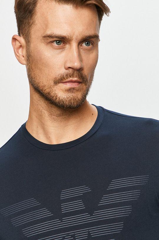 Emporio Armani - T-shirt granatowy