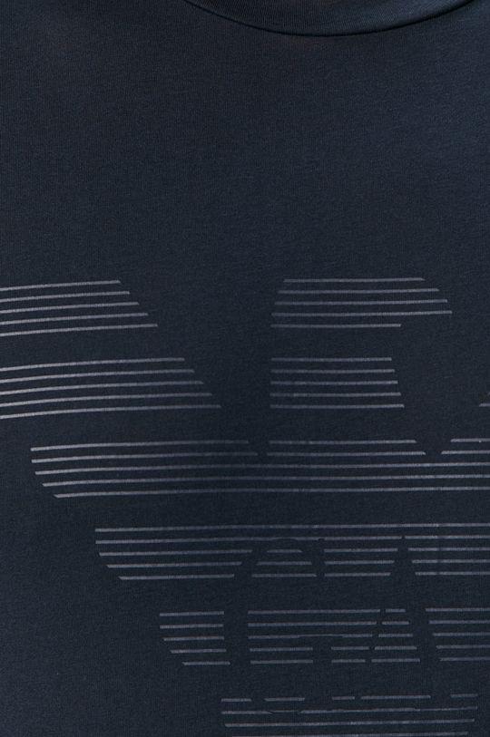granatowy Emporio Armani - T-shirt