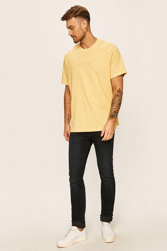 Levi's - Tricou galben