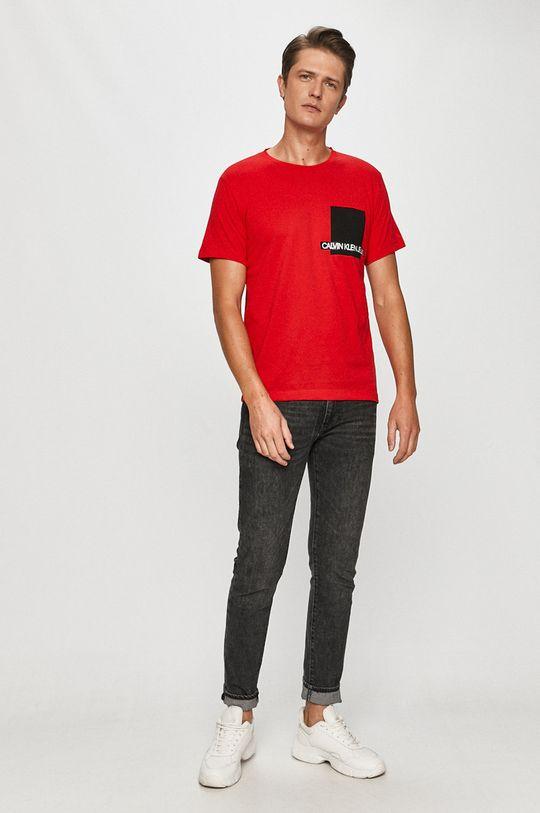 Calvin Klein Jeans - Tričko červená