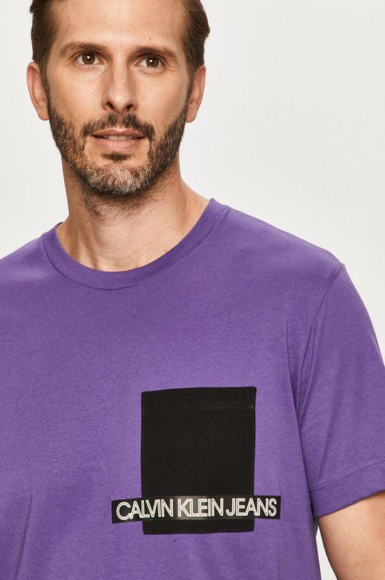 fialová Calvin Klein Jeans - Tričko
