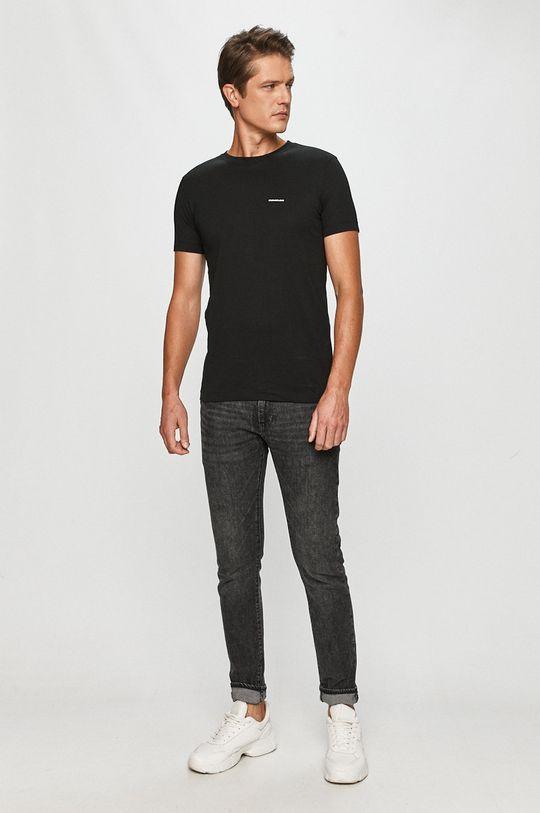 čierna Calvin Klein Jeans - Tričko (2-pak)