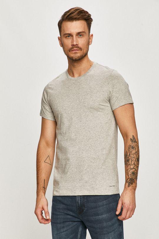 viacfarebná Calvin Klein Underwear - Tričko (3-pak) Pánsky