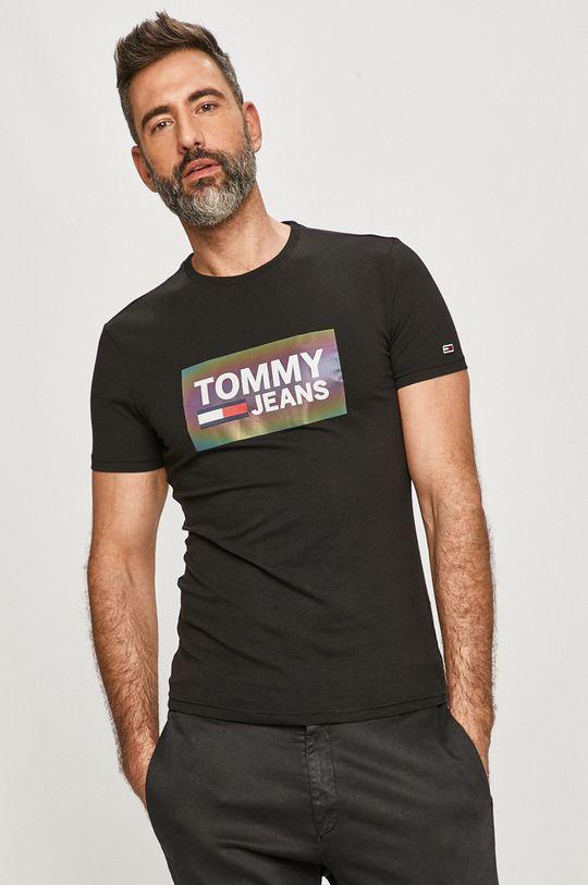 negru Tommy Jeans - Tricou