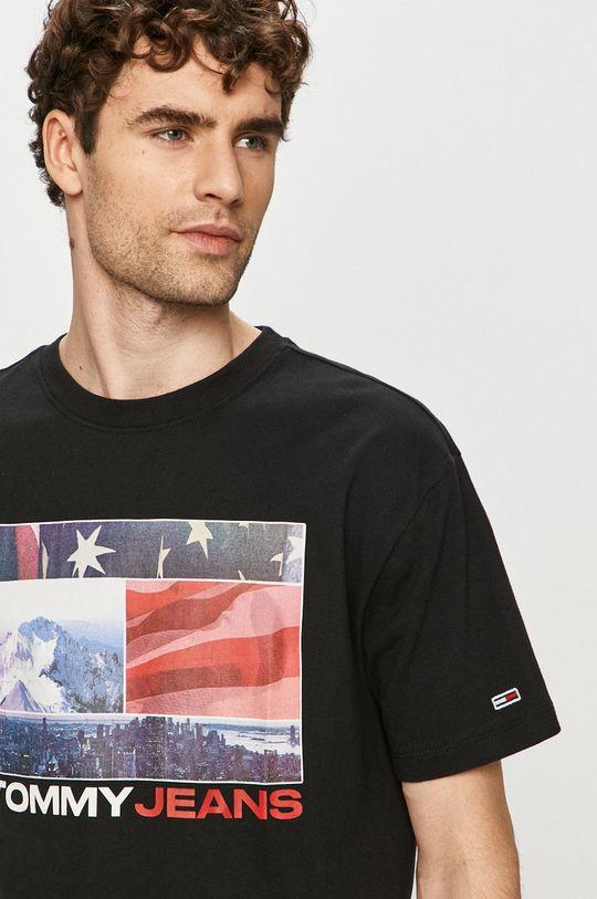 černá Tommy Jeans - Tričko