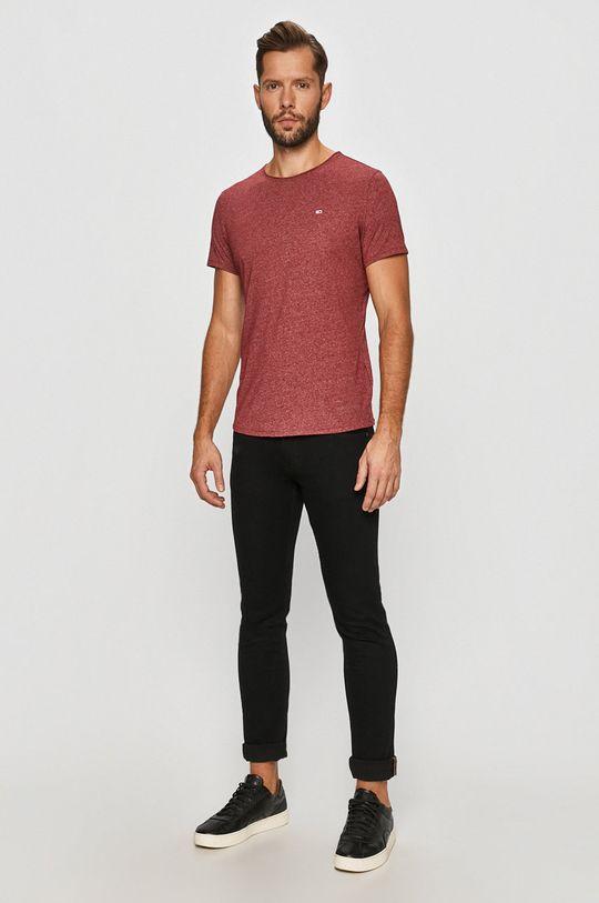 Tommy Jeans - Tricou castan