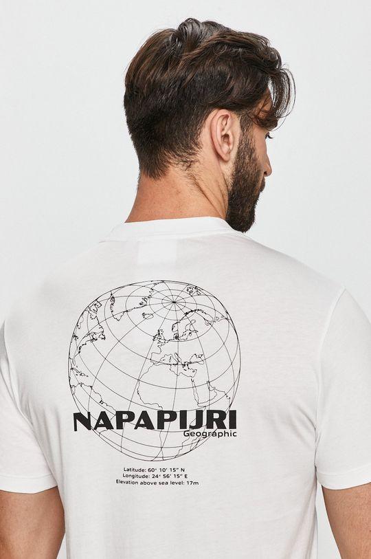 fehér Napapijri - T-shirt Férfi