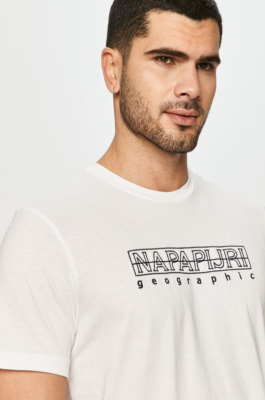 biały Napapijri - T-shirt