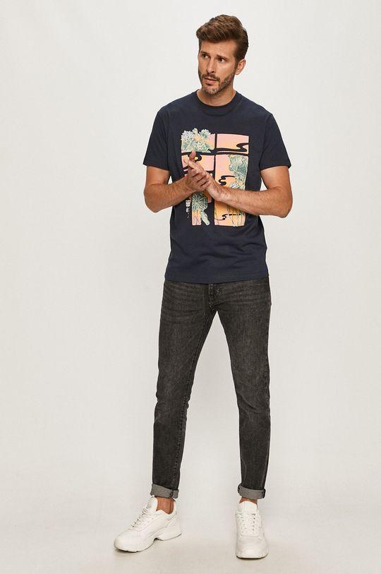 Pepe Jeans - Tričko Seth námořnická modř