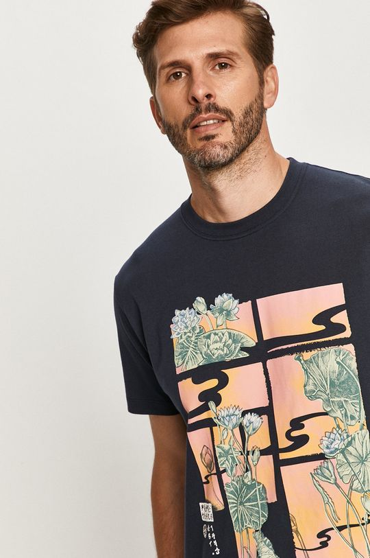 námořnická modř Pepe Jeans - Tričko Seth