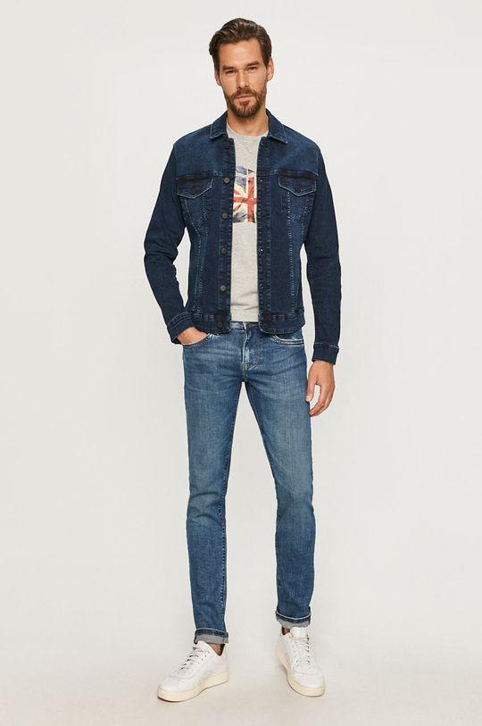 Pepe Jeans - T-shirt Sid szary