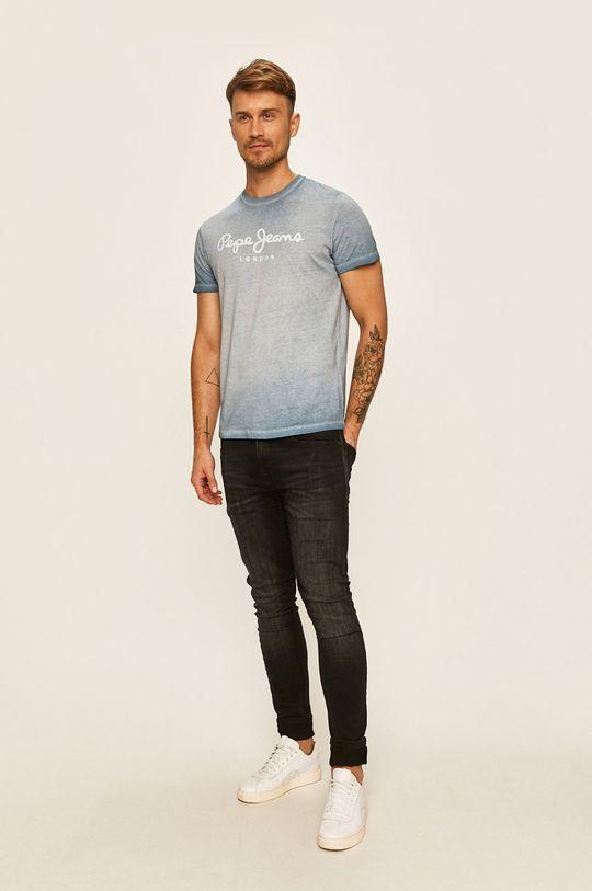 Pepe Jeans - Tričko West Sir fialová