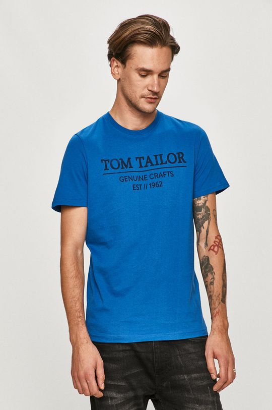 modrá Tom Tailor Denim - Tričko
