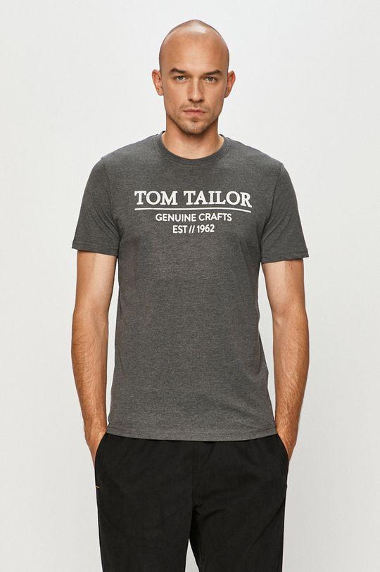 šedá Tom Tailor Denim - Tričko