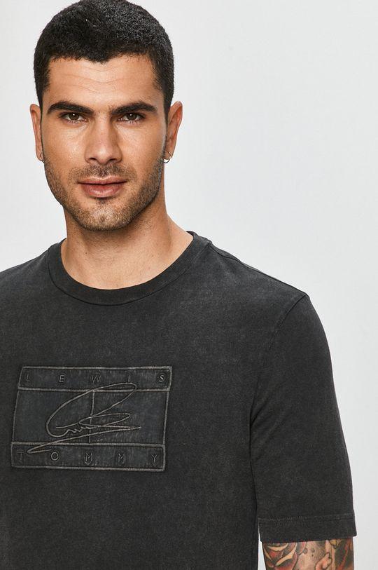 szary Tommy Hilfiger - T-shirt