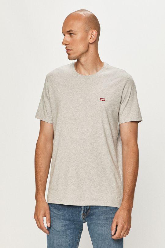 szary Levi's - T-shirt Męski