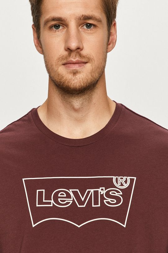 fioletowy Levi's - T-shirt