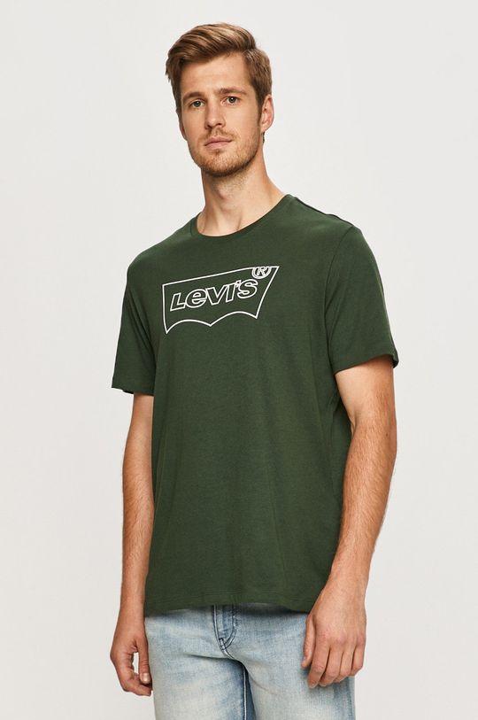 zelená Levi's - Tričko Pánský