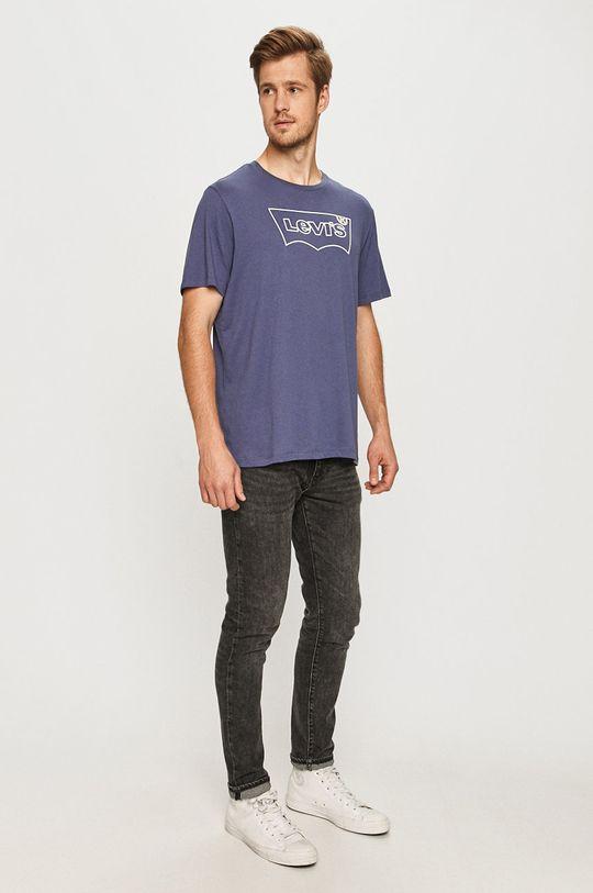 Levi's - T-shirt niebieski
