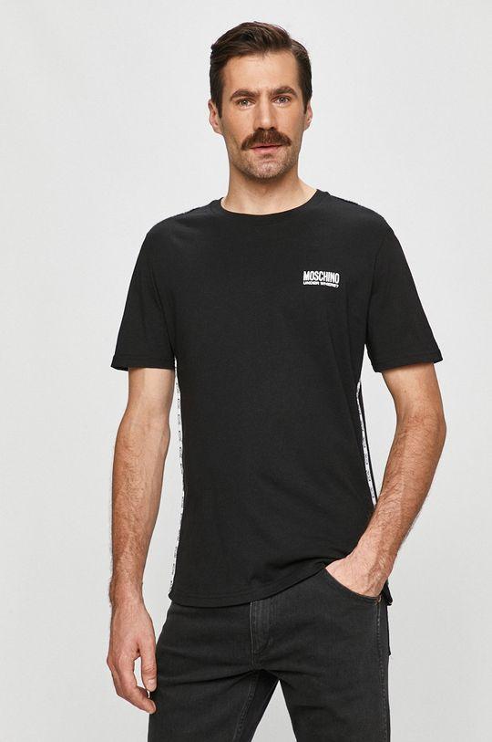 čierna Moschino Underwear - Tričko Pánsky