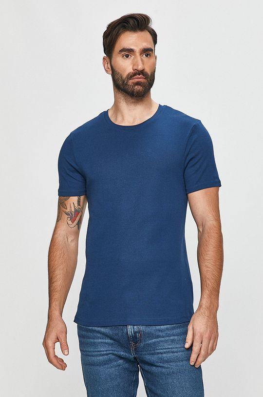 tmavomodrá Moschino Underwear - Tričko Pánsky