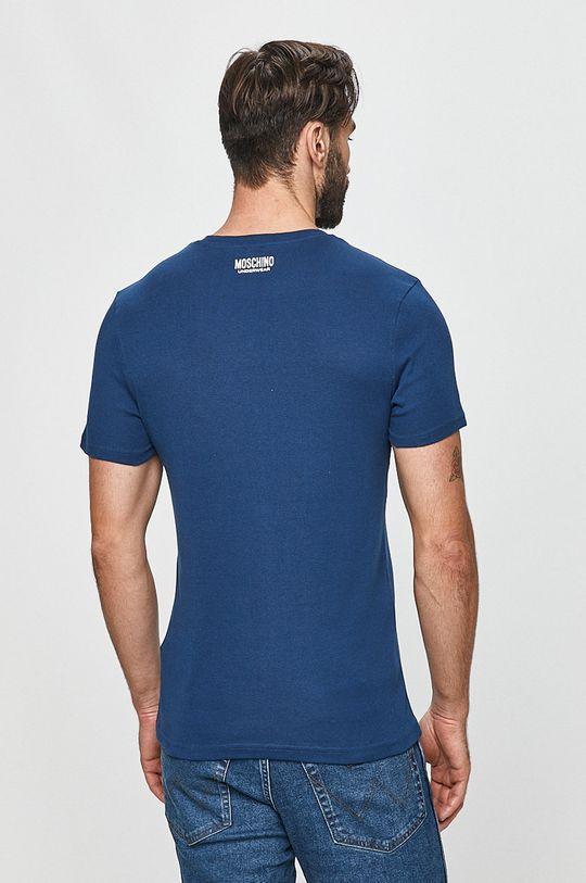 Moschino Underwear - Tričko tmavomodrá