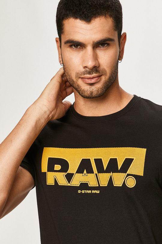 čierna G-Star Raw - Tričko Pánsky