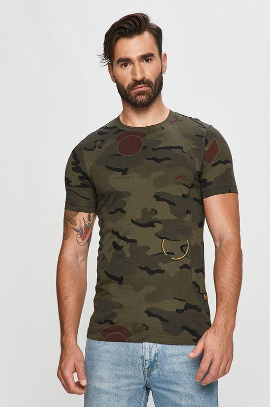 terepszín G-Star Raw - T-shirt Férfi