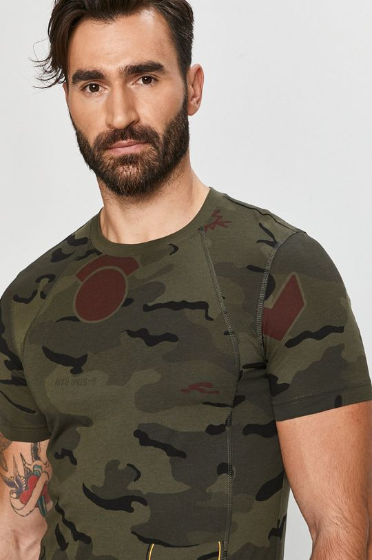 terepszín G-Star Raw - T-shirt