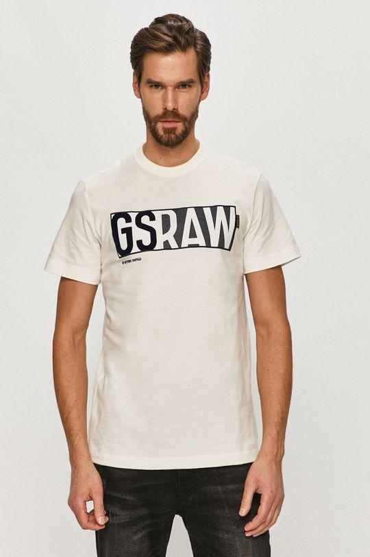 bílá G-Star Raw - Tričko Pánský