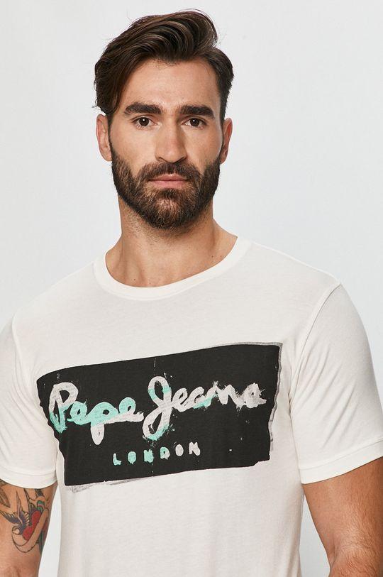 fehér Pepe Jeans - T-shirt Poplar Férfi