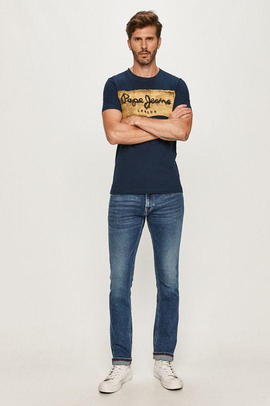 Pepe Jeans - Tričko Charing tmavomodrá