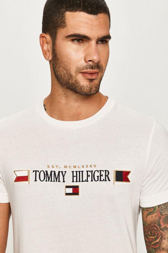 biela Tommy Hilfiger - Tričko