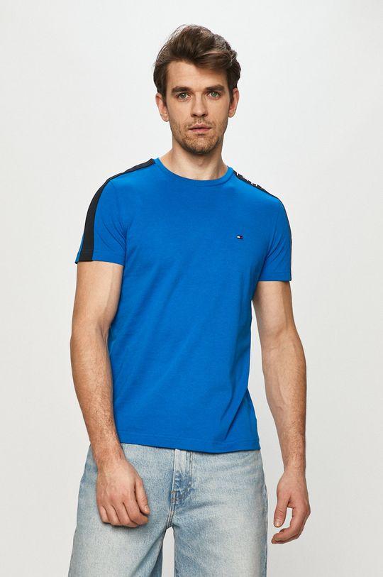 modrá Tommy Hilfiger - Tričko Pánský