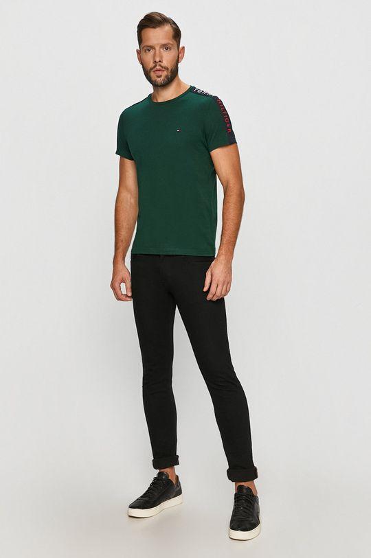 Tommy Hilfiger - Tričko tmavě zelená