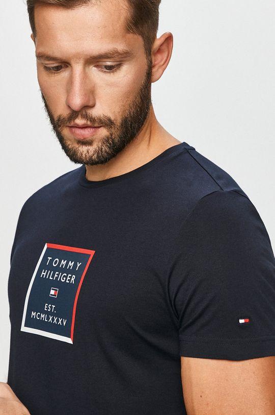námořnická modř Tommy Hilfiger - Tričko Pánský