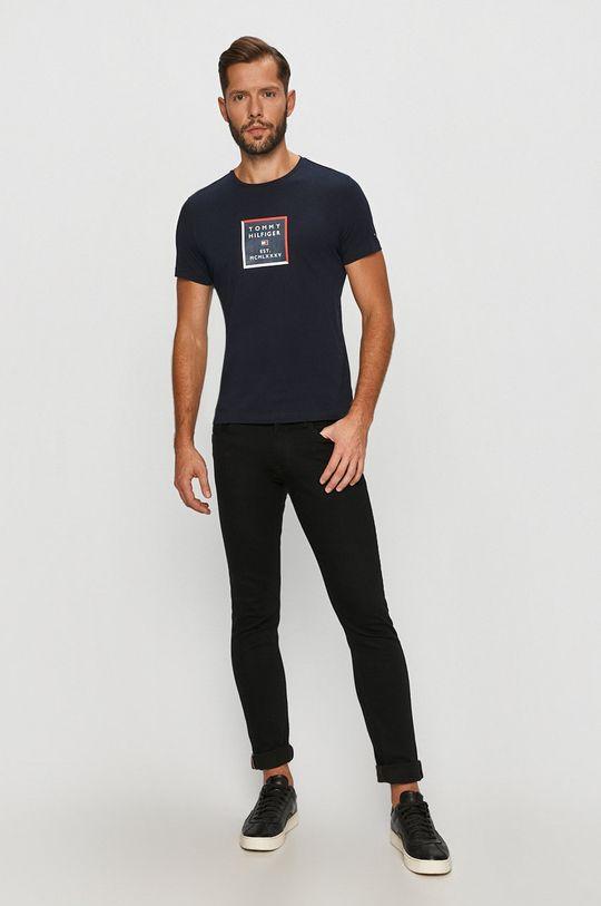 Tommy Hilfiger - Tričko námořnická modř