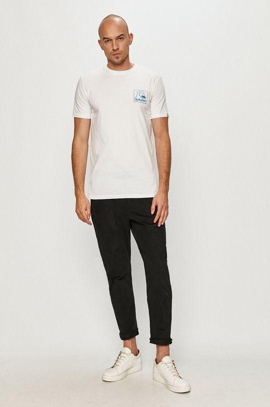 Quiksilver - Tričko biela