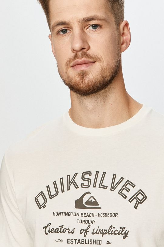 biela Quiksilver - Tričko