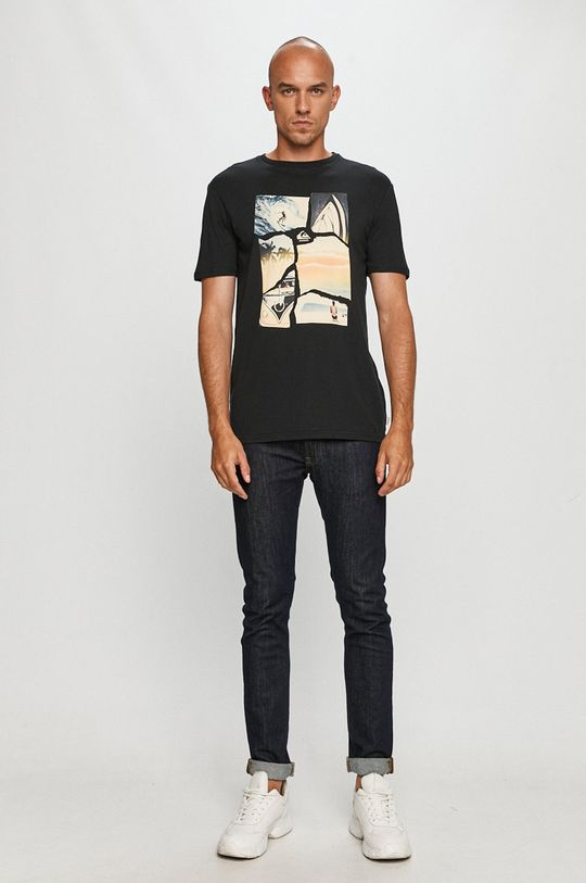 Quiksilver - Tricou negru