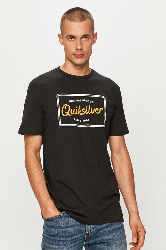 čierna Quiksilver - Tričko Pánsky