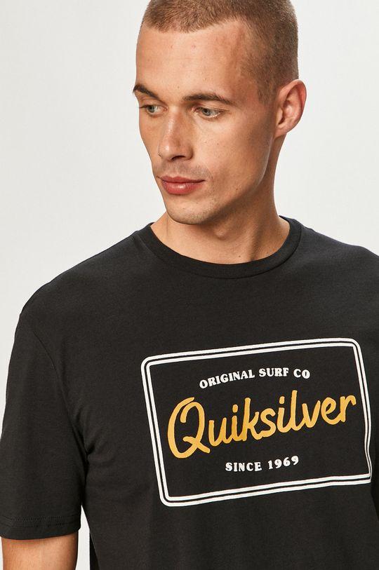 čierna Quiksilver - Tričko