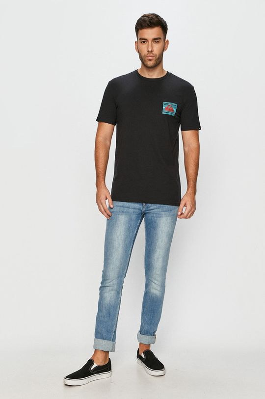 Quiksilver - Tričko čierna