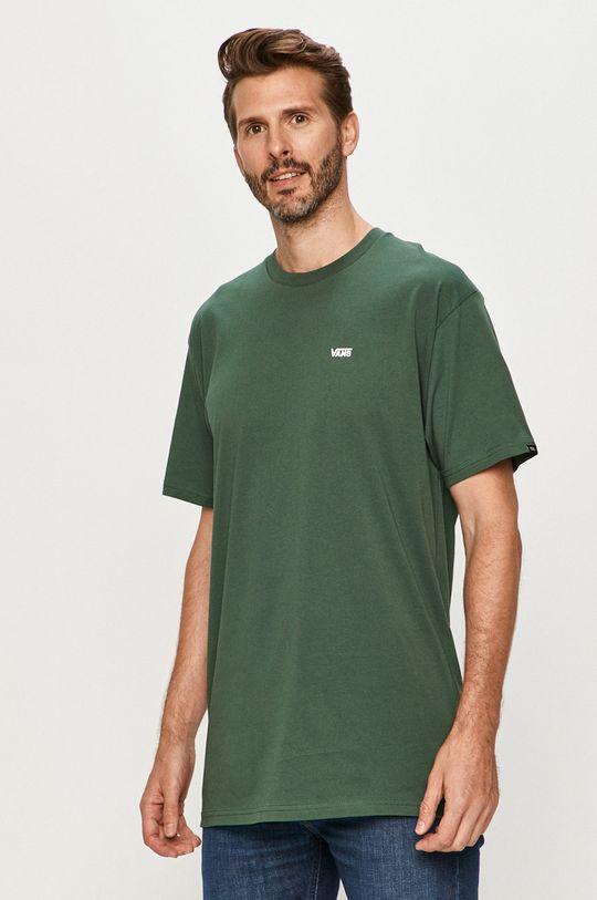 verde inchis Vans - Tricou De bărbați