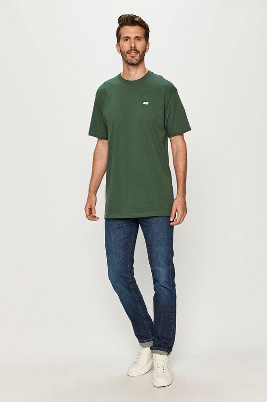 Vans - Tricou verde inchis