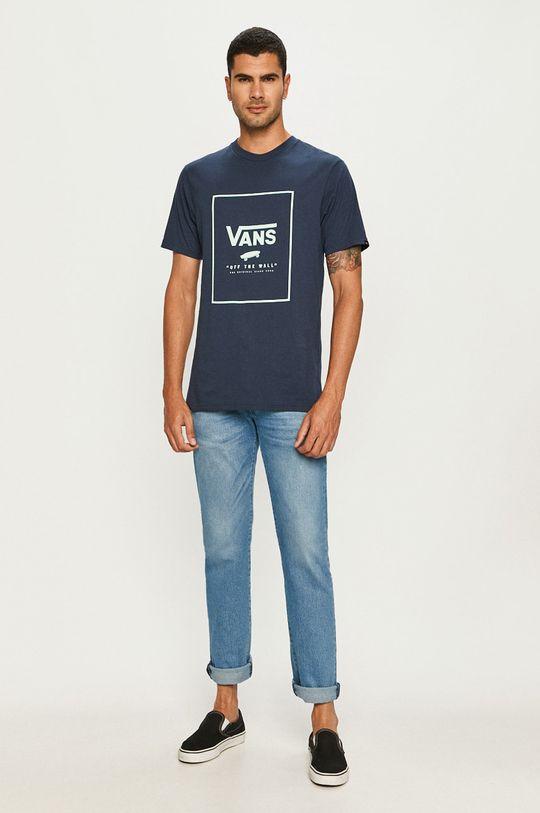 Vans - Tričko tmavomodrá