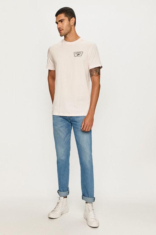 Vans - Tričko pastelová ružová