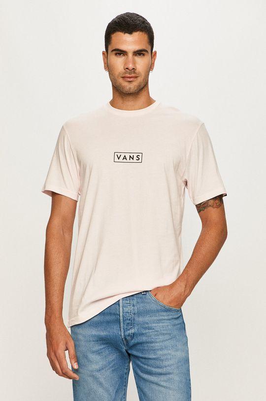 różowy Vans - T-shirt Męski