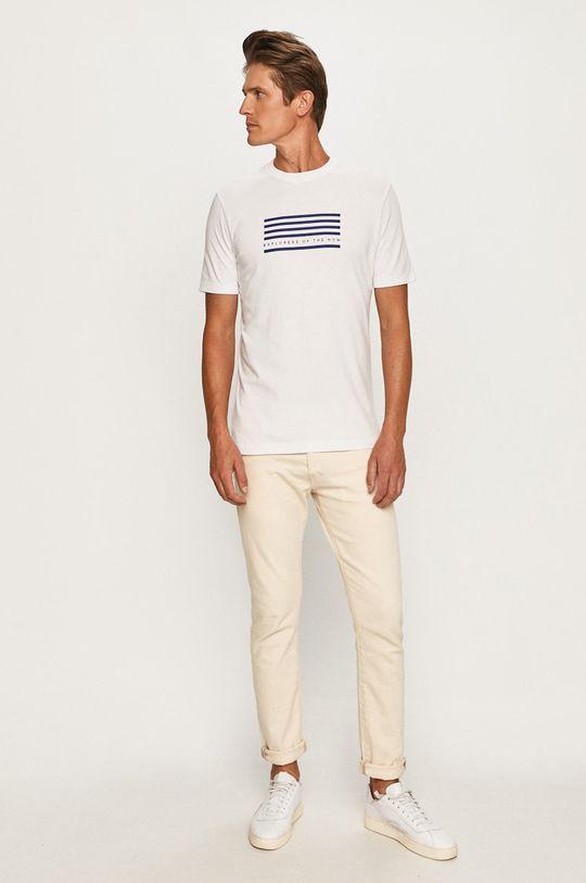 Scotch & Soda - T-shirt biały
