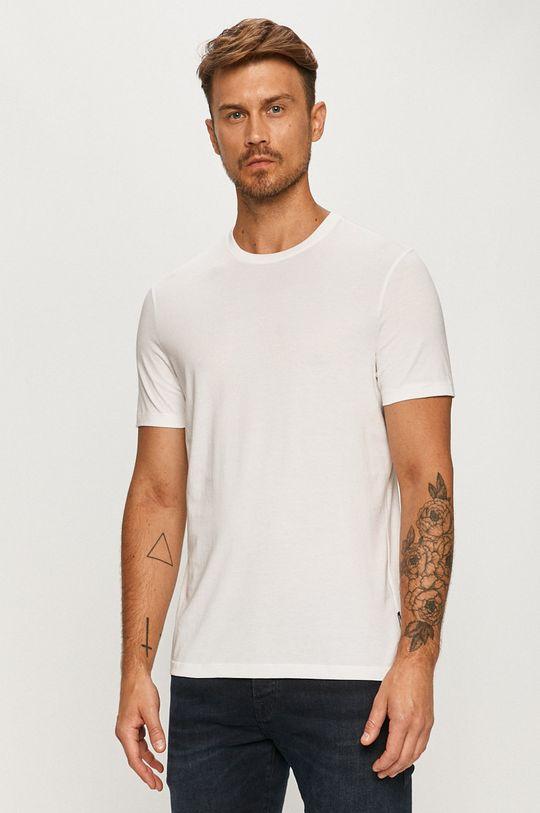 biały Strellson - T-shirt Męski